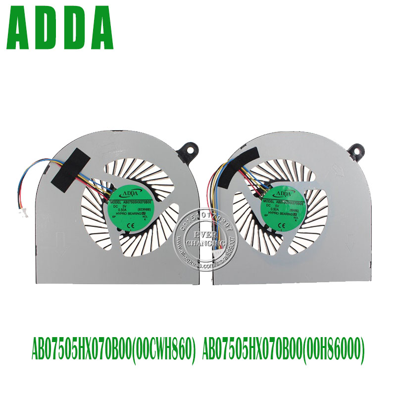 NEW CPU COOLING FAN FOR ACER VN7 VN7-571G-56F1 VN7-591-50LW ADDA AB07505HX070B00 DC5V 0.50A 00CWH860NEW CPU COOLING FAN FOR ACER VN7 VN7-571G-56F1 VN7-591-50LW ADDA AB07505HX070B00 DC5V 0.50A 00CWH860