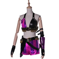 Anime Cosplay Jinx Dress Sexy Cosplay Costume Girls And Women Dress Custom Made