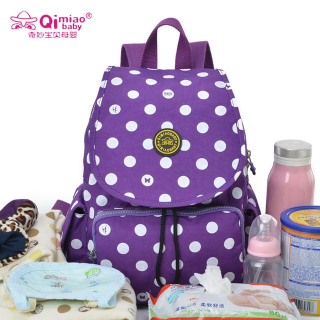 Pañal del panal de maternidad de gran capacidad mochila mochilas de viaje bolsas de maternidad mamá momia del bolso del bebé madre multifuncional bebe