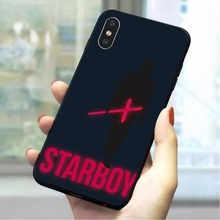 The Weeknd starboy Soft TPU Case for iPhone 6S Shockproof Phone Cover for iPhone 6S Plus 7 8 X Xs Max XR 5 5S SE 6 Cases Back цена и фото