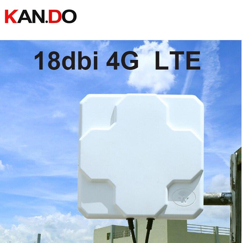18dbi 697-2700 mhz extérieure 3g 4g 2g antenne de routeur 4g LTE antenne 4g routeur antenne panneau antenne directionnelle ok SMA connecteur