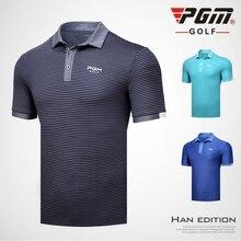 Новая одежда для гольфа, Мужская футболка с коротким рукавом, летняя спортивная футболка, рубашка поло, быстросохнущая одежда