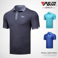 2018 New Golf Clothing Men's Short Sleeve T Shirt Summer Sport Tshirt Polo Shirt Quick Drying Clothes