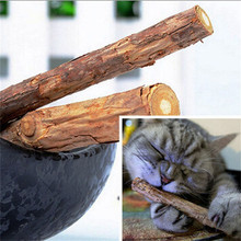 5PCS Cat Cleaning Teeth Pure Natural Catnip Pet Toothpaste Snack Sticks