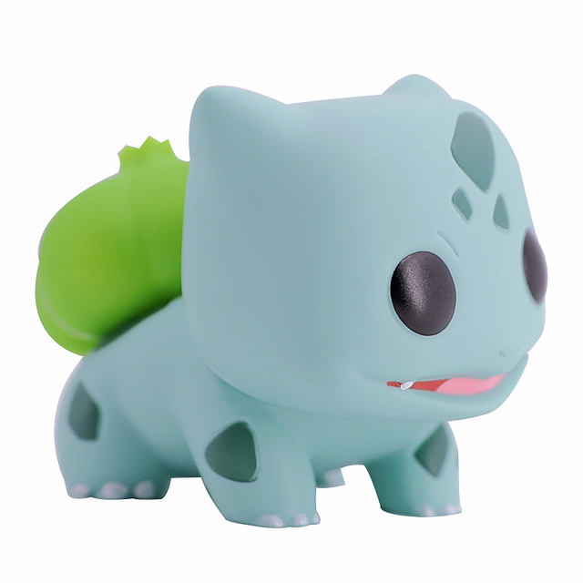 Bonito Figuras Pikachu Bulbasaur Toy Animal para Crianças