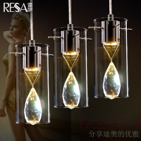 Romantic High Quality K9 Crystal Flower Glass 13 5 6 Heads Led Pendant Light For Living