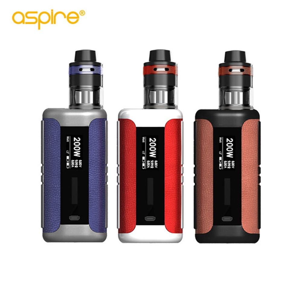 Original Aspire Speeder Revvo Kit vape 200W Speeder Mod 2.0ml Revvo Tank VS aspire speeder electronic cigarette цена