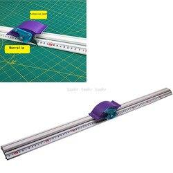 Para a placa do Kt Manual da placa de Pvc régua De Corte da liga de alumínio anti-skid Posicionamento régua de corte faixa de corte ferramenta Para Trabalhar Madeira