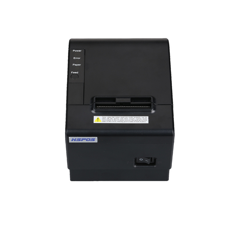 High speed 58mm pos bill printer with cutter thermal receipt printer usb connection for small invoice ticket printing