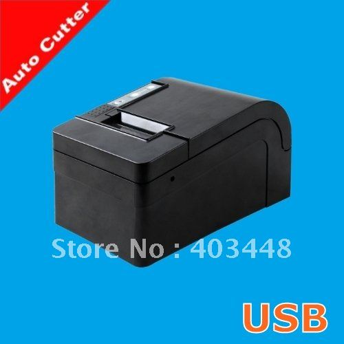 USB Automatic Cutter Thermal POS Receipt Printer  (OCPP-58C) two person tent outdoor camping tent kit fiberglass pole water resistance with carry bag for hiking traveling 200x120x110cm