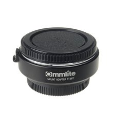 Commlite CM-FT-MFT Electronic Auto Focus Lens Mount Adapter Ring for 4/3 Lens to Olympus M4/3