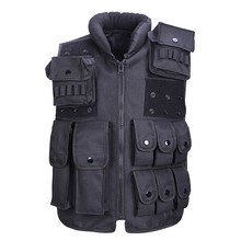 Autumn New Camping & Hiking Sports Tactical Men Hiking Vests Multi-pocket design Outdoor Solid Color Men Hiking Vests(China)
