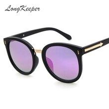 2017 Vintage Round Sunglasses Women Brand Designer Eyewear UV400 Female Retro Sun Glasses Oculos font b