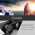 CAIXA Original VR VR 3D Olhos 3D de Realidade Virtual Privada Capacete Móvel Cinema Óculos de Vídeo 3D para o SmartPhone