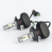 Os High Dipped Beam H4 Led Car Bulbs 6500K SUV Headlight Kits 2WD 4WD Automobile Head