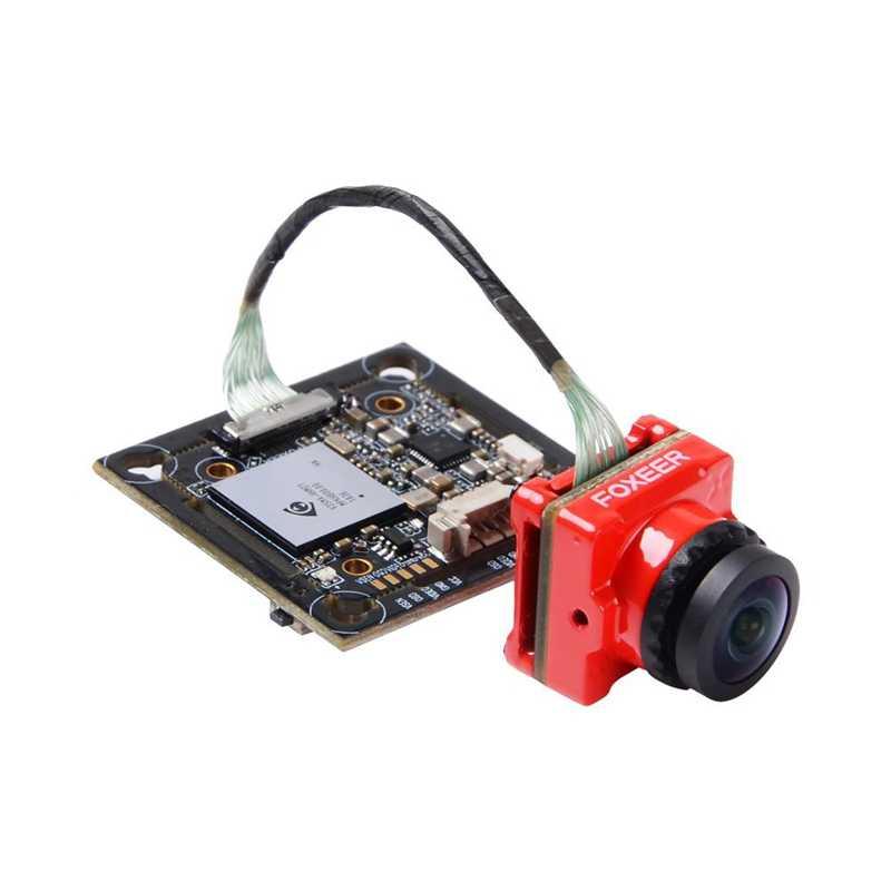 Foxeer Mix 2 1080P 60fps DVR HD enregistrement Mini caméra FPV faible latence FOV 155 degrés pas de gel pour Drone RC