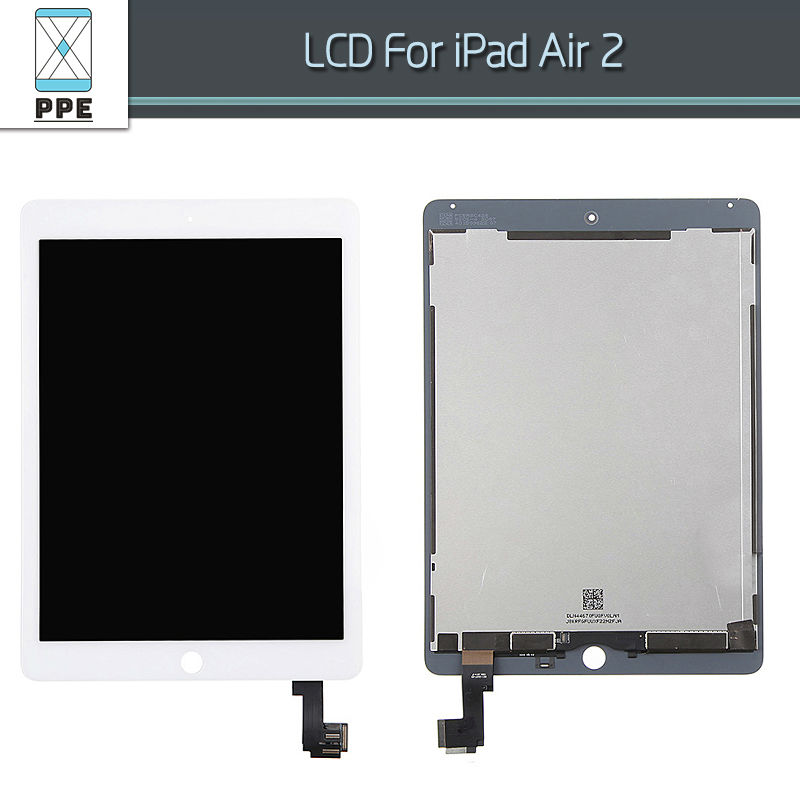 New Original LCD Display Touch Screen for Apple Ipad 6 Air 2 A1567 A1566 LCD Digitizer Glass Pantalla Assembly Black White