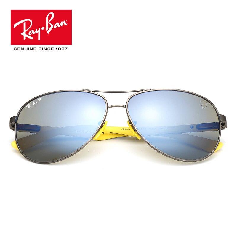 5e3d0b85f7 Rayban Original Ferrari Series Limited HD Polarized prescription Sun  Glasses RB8313M-F003 H0