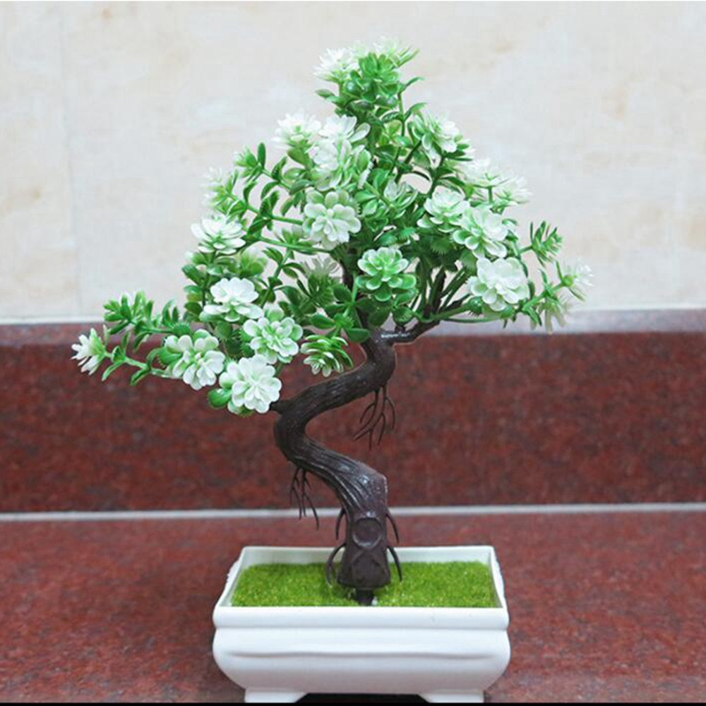 1pcs/lot Artificial flower small bonsai home decoration office small ornaments furniture display simulation flower suit crafts