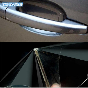 4Pcs/LOT Car Handle Protection Film Car sticker for kia rio k2 passat b6 chevrolet lacetti mercedes mazda cx-5 skoda octavia a7 image