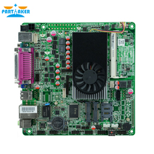 Mini Itx industrial motherboard 1037U DC 12V Dual 24bit LVDS Motherboards POS Machine industrial Mini ITX-M18_D2