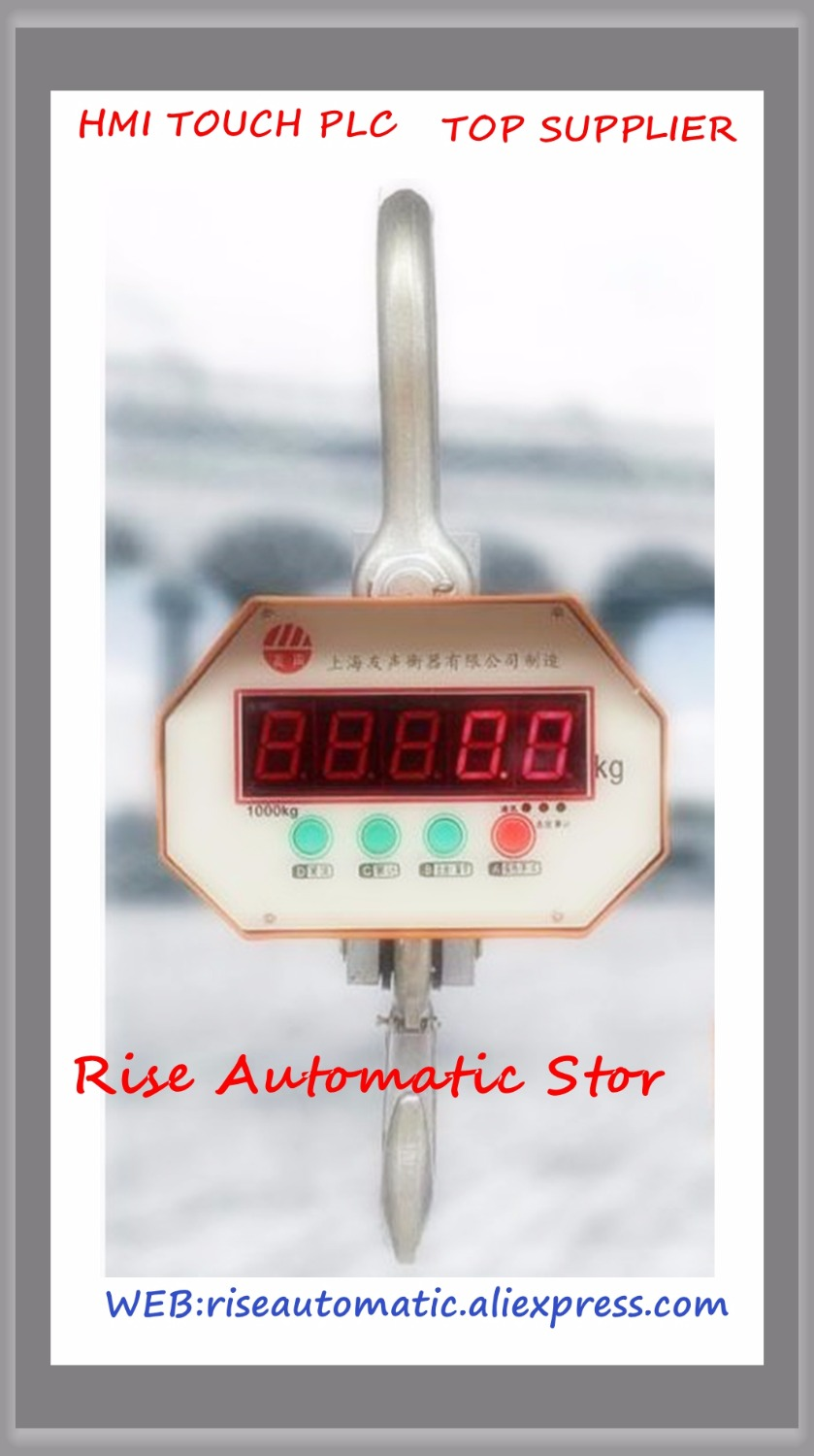 NEW Electronic Crane Scale 3T 3000KG industrial Digital Crane Scale hook hanging scale 30kg high accuracy electronic price computing weighing scales digital hanging hook crane scale
