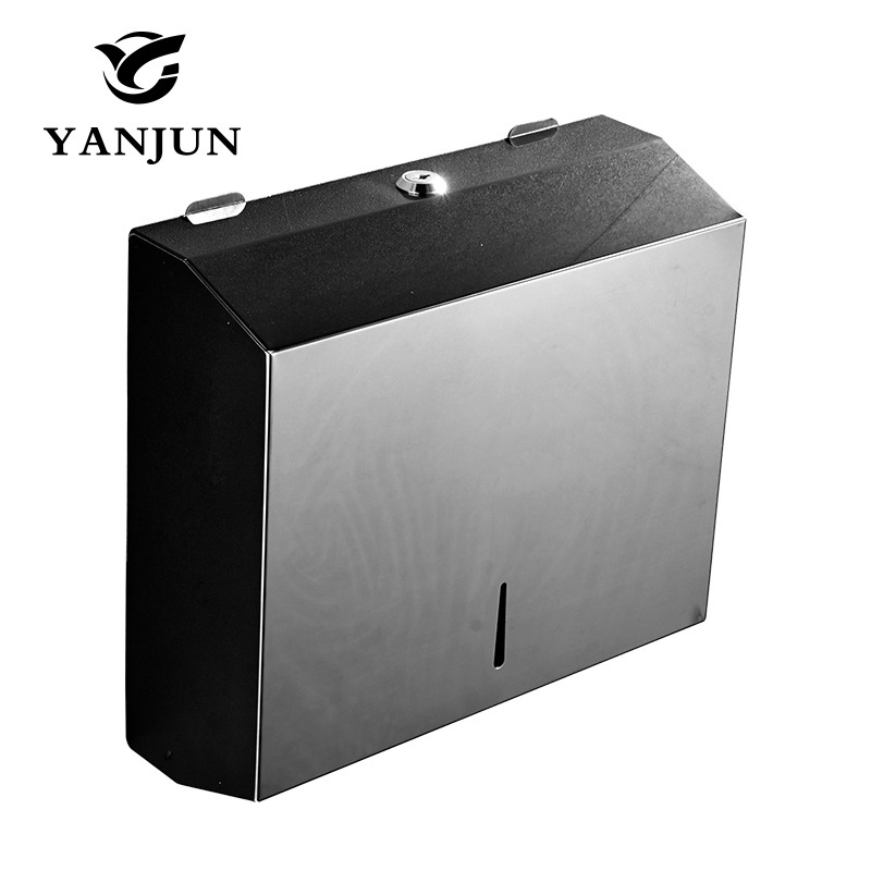 Yanjun Wall Mounted Stainless Steel Toilet Paper Holder WC Paper Towel Holder Tissue Dispenser Bathroom Accessories