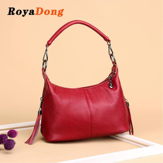 e9917012fc RoyaDong Shoulder Bag For Women Designer Handbag High Quality Female Hobo Bag  Tote Soft Pu Leather Large Crossbody Bags Ladies
