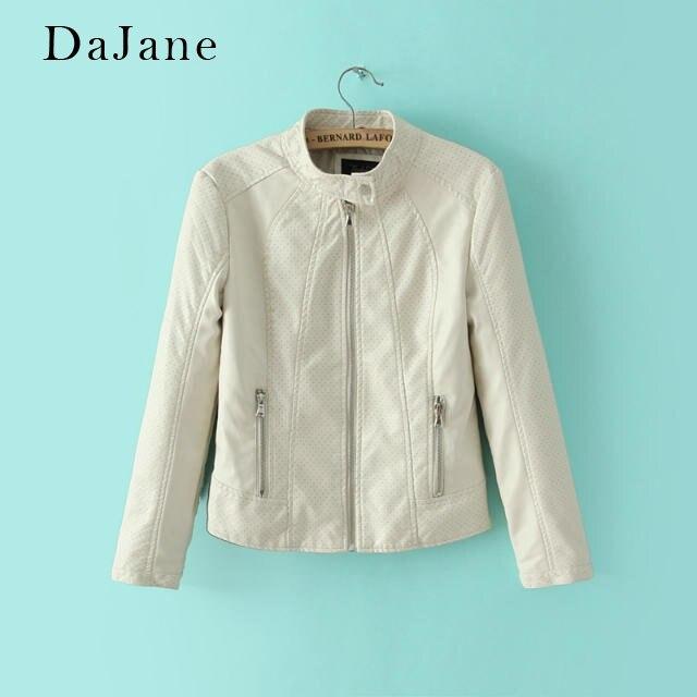 Women's Autumn Winter New PU   Leather   Jacket long-sleeved Shirt Short Zipper Shirt Manufacturers   Leather   Jacket Women