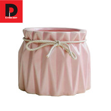 Dehomy Pastoral Style Flower Pot  Ceramics Succulent Planter Pots Tiny Flower Pots Vase For Home Decoration Without Flowers