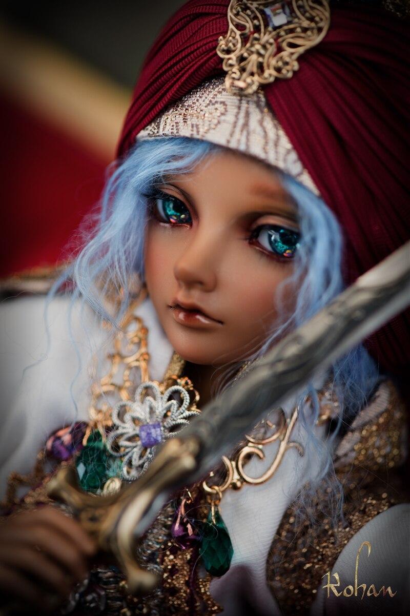Bjd boneca 1 4 rohan escolher o