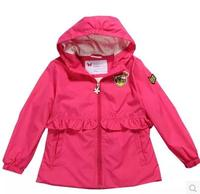 hot sell High quality Outdoor Soft shell Ski wear Girl Jacket Autumn and winter Long Sleeve Kids Outerwear
