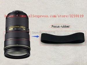 Image 3 - New Original LENS Genuine Zoom + Focus Grip Rubber Ring For Nikon AF S NIKKOR 24 70mm 24 70 mm 1:2.8 G ED Repair Part