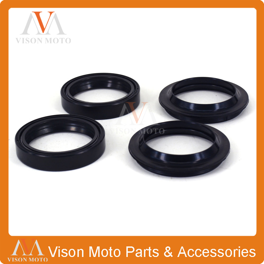 Front Shock Absorber Fork Damper Oil Seal For KTM SUPERMOTO 690 990 SX125 SX144 SX150 SX200 SX250 SX380 SX 125 144 150 200 250 motorcycle front rider seat leather cover for ktm 125 200 390 duke