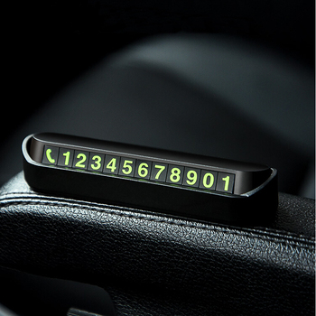 New Car Styling Temporary Parking Card Phone Number Card for Toyota Camry Highlander RAV4 Crown Reiz Corolla Vios Yaris