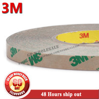1x 80mm 55M 0 13mm 5 2 Mils 3M 468MP 200MP Adhesive Heat Resist Transparent Film