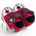 Lovely Kids Boys Gilrs Cartoon Prewalker Shoes Newborn Infant Soft Soled Baby Mickey Shoes Bebe First Walkers