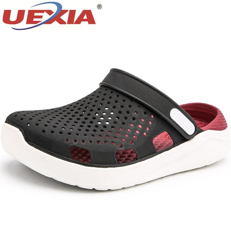 3a3b2c5000908 Caractères Mer Black gray De Pour Plage Nouvelle Pantoufles En Mode Uexia  Supérieure Chaussures Red blue ...