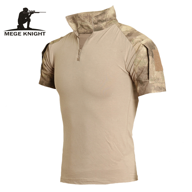 Military Clothing Camouflage Short Combat Shirt Digital Camouflage ACU AT-FG Multicamo Top Shirt Clothes