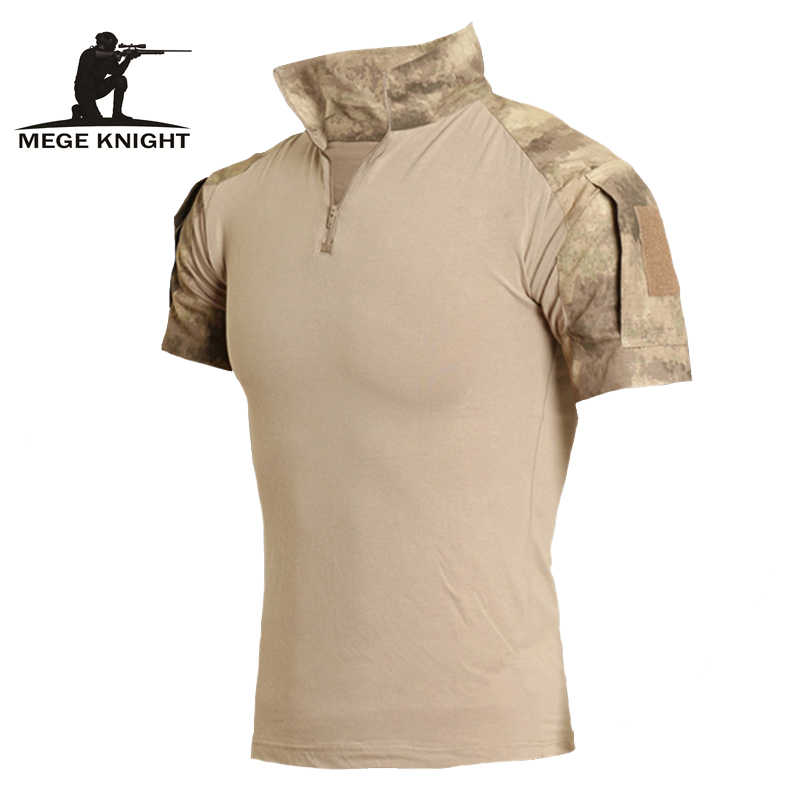 Military Kleidung Camouflage Kurze Combat Shirt Digitale Camouflage ACU AT-FG Multicamo Top Hemd Kleidung