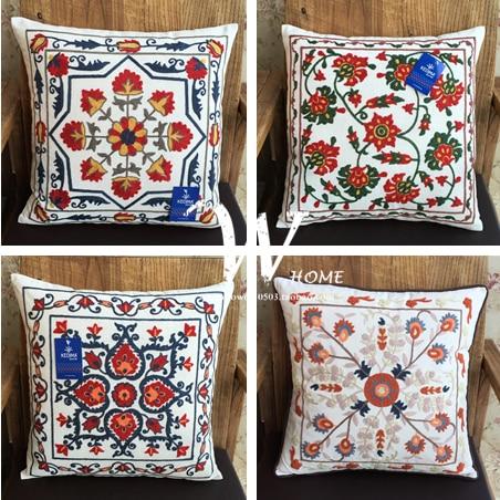 Ikea Decorative Pillows Gorgeous 60% Manual Embroidery Cotton Cloth Ikea Cushion Covers Decorative