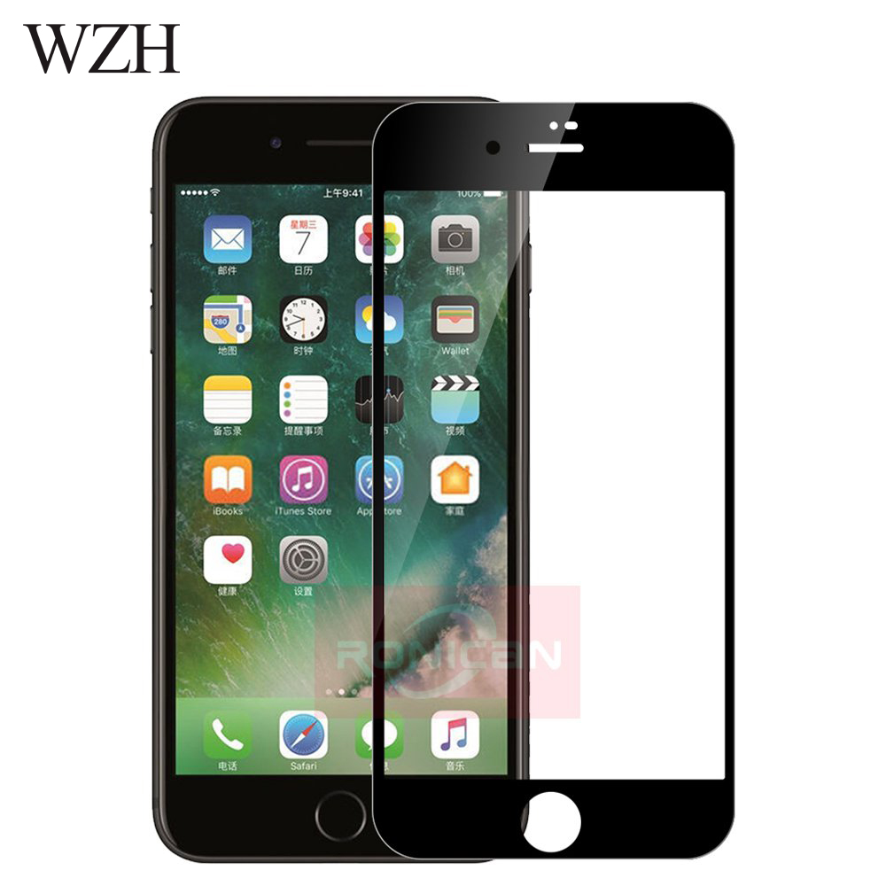 3D Full Cover Tempered Glass On iPhone 7 8 Plus Screen Protector Film For iPhone 6 6s Plus 5 5s 5c SE Glass for iPhone XS MAX XR iPhone