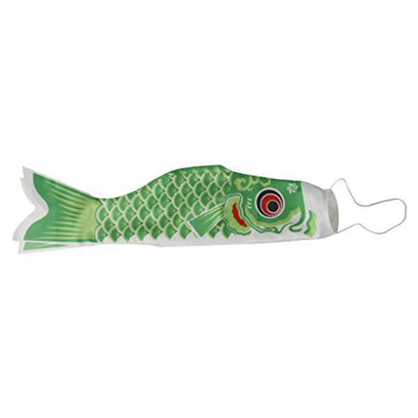 70cm Japanese Style Japanese Carp Windsock Streamer Fish Flag Kite Koi Nobori Koinobori Wind Streamer