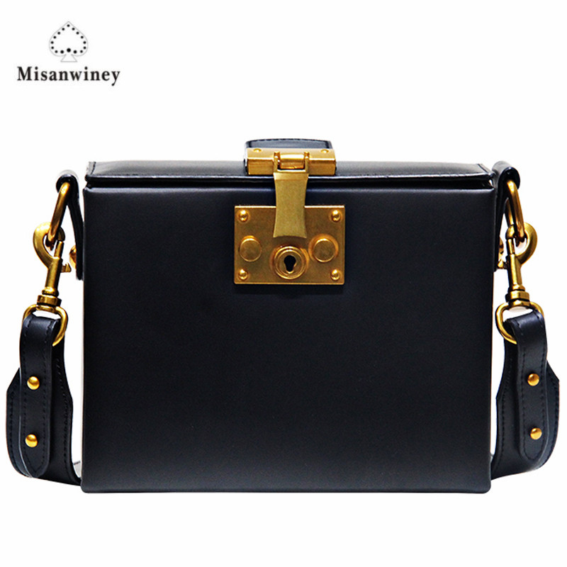2017 Winter Bag Luxury Handbags Women Bags Designer Purses Ladies Hand Bags High Quality Trunk Box Shoulder Messenger Bag feral cat women small shell bag pvc zipper single shoulder bag luxury quality ladies hand bags girls designer crossbody bag tas