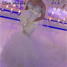 Ellen Morgan Wedding Dresses for Court Train Bridal Gowns