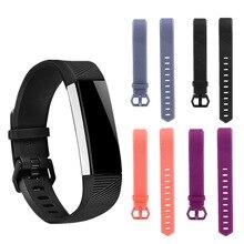 Substituição Pulseira Band Strap Pulseira Pulseira Para Fitbit Alta HR Acessórios Bandas Pulseiras de Relógio Relógio Do Esporte De Alta Qualidade