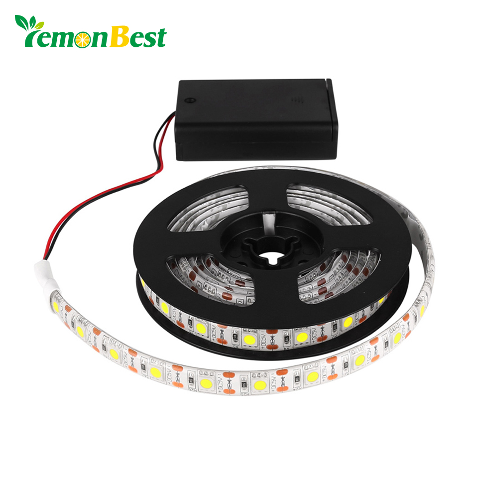 rgb warm cool smd 5050 rgbw led strip light waterproof string lamp with control box 2m 1m. Black Bedroom Furniture Sets. Home Design Ideas