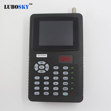 New Satellite Finder full hd 3.5  satellite finder dvb-s dvb-s2 Signal Meter link digital LUBOSKY SK3059H