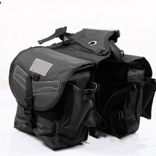 Saddle Bag Waterproof Big Size Riding Equestrian Harness  Equestrian Bag Outdoor Knight Bag Western Saddle