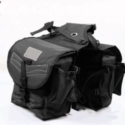 Saddle bag waterproof big size riding equestrian harness  Equestrian bag outdoor Knight bag Western Saddle